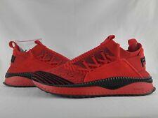 PUMA x FUBU TSUGI JUN Sneakers High Risk Red Black Ignite BHM Running Shoe NWOB
