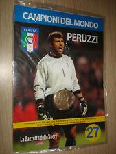 MEDAGLIA N° 27 ITALIA CAMPIONI DEL MONDO 2006 PERUZZI