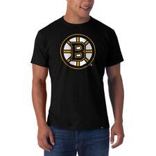 NHL T-Shirt Boston Bruins Frozen Rope schwarz 47 Brand Eishockey Logo