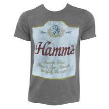 Hamm's Hugger Label Heather TShirt Grey