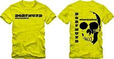 """T-Shirt """"Dortmund Südtribüne Skull""""    Fussball Fanshirt S/WGrafik DTG"""
