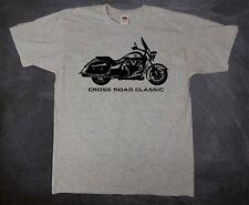 Tshirt T-Shirt Motorradfahrer Motorrad Victory Cross Road Classic