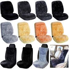 Lammfellbezug Sitzbezug Auto echt Lammfell Vordersitzbezug Kissen Matratze #N282