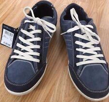BUY1GET1FREE Men Retro Denim Style Vintage Deck Boat Shoe Smart Casual Navy Wash