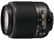 Nikon Zoom-NIKKOR 55-200mm f/4.0-5.6 SWM AF-S DX A/M G ED Lens (Black)