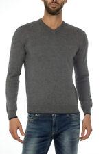 Maglia Armani Jeans AJ Sweater Pullover -25% Uomo Grigio 8N6M966M13Z-3901
