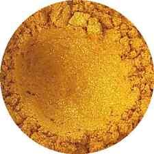 Golden Sparkle Cosmetic Mica Powder 3g-50g Pure Soap Bath Bomb Colour Pigment