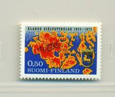 MAPPA & STEMMA - MAP & COAT FINLAND 1972