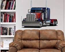 Peterbilt Big Rig Semi Truck Hauler WALL GRAPHIC DECAL #9305 MAN CAVE GARAGE EM