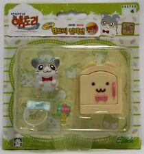Hamtaro Hamutaro Hamster Figure Accessories Set- Dexter (Megane-Kun)