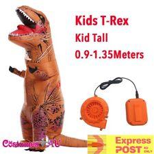 Child Inflatable Trex Dinosaur Costume T Rex T-Rex Kids