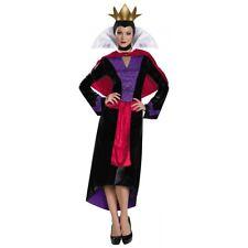 Evil Queen Costume Adult Disney Wicked Halloween Fancy Dress