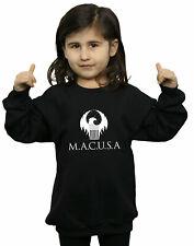 Fantastic Beasts Bambine e ragazze MACUSA Logo Felpa