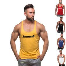 Sexy Purple Men Training Tank Tops Stringer Bodybuilding Fitness Vest t shirts