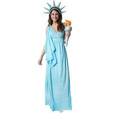 Kostüm Damen Freiheitsstatue Statue of Liberty USA Amerika Fasnacht Karneval