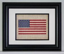 American Flag - Burlap American Flag - Wall Art