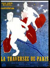 La traversee de Paris Bourvil Gabin1956 movie poster