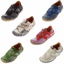 Damen echt Leder Schuhe Sneakers Comfort Slipper Halbschuhe used Look TMA 1901