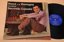 ORCHESTRA SPETTACOLO CASADEI LP RICORDANDO SECONDO 1°ST ORIG 1972 ROMAGNA LISCIO
