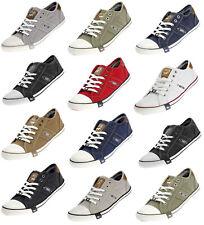 Mustang Herren Sneaker Freizeitschuhe Canvas Jeans Herrenschuhe 4058305