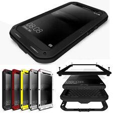 Waterproof Metal Aluminum Gorilla Glass Case Cover For Huawei Mobile Phones