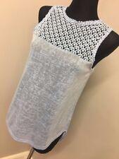 Brave Soul Vest With Crochet Yoke - ASOS (AS-21/24)