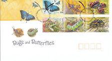 2003 Bugs and Butterflies FDC - Gummed