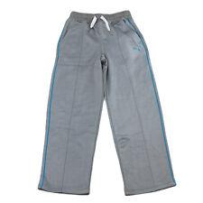 PUMA KIDS Boy's Smoke Grey Drawstring Active Pants 91163187F $40 NWT