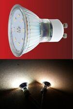 SMD Led 230V GU10 5 Watt = 50 Watt Lichtfarbe: Weiss & Warmweiss