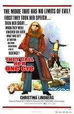 Thriller: ein grausames Bild AKA nennen Sie ein Auge (1973) Film Poster