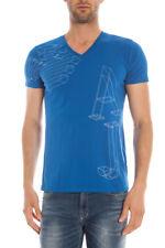 T-shirt Maglietta Armani Jeans AJ T-Shirt Sweatshirt -35% Uomo Blu B6H31LS-Z8