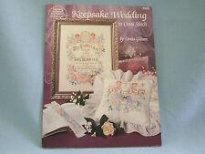 Wedding Counted Cross Stitch Keepsake Wedding Projects Linda Gillum Bridal