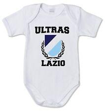 BODY tutina bimbo neonato J1357 Ultras Lazio Scudetto Curva Nord Olimpia Italia
