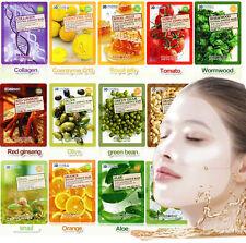 Food A Holic// 3D Shape Natural Essence Pulp Mask 23g(3ea,15ea)/Korean Cosmetics