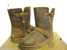 Ugg Classic Short Dylyn Bomber Jacket Chestnut  Boots Women US6/ UK4.5/EU37/JP25