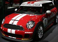 Mini Cooper 2 COLOR Sport Stripes Stripe Decals Clubman Countyman ALL YR & MODEL