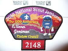 2010 JSP Chehaw Council Jamboree,Mars M& Ms,Troop # 2148 Red,E Goodman,OA 353,GA