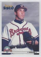 1999 Blueline Richmond Braves #24 Steve Sisco Rookie Baseball Card