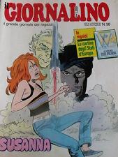 Giornalino 38 1987 Sherlock Holmes Piuma Rossa + inserto staccabile Mitty