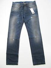 D&G Dolce&Gabbana Jeans Hose Broek R50739 Neu Blau Destroyed