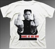 Kim Jong-un Corée du Nord doigt l'entrevue venir à moi Bro T-Shirt fn9495