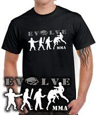 T-SHIRT EVOLVE MMA fighting fight evolution boxen karate jiu jitsu Kickboxen