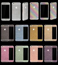 Fashion Diamond Glitter Bling Full Body Decal Skin Sticker Case Cover For iphone