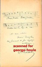 FRANCOIS-AUGUSTE GEVAERT - MUSICAL QUOTATION - SIGNED -1887 - COMPOSER -BELGIUM