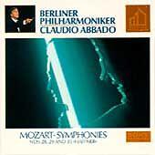 "Mozart: Symphonies Nos. 28, 29 & 35 ""Haffner"" (CD, Gold Disc, Sony) Abbado - LN"