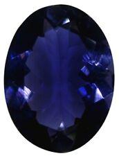 Natural Extra Fine Deep Purple Blue Iolite - Oval - Sri Lanka - AAA+ Grade - Ext