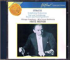 Fritz REINER: Richard STRAUSS Symphonia Domestica Tod und Verklärung CD RCA