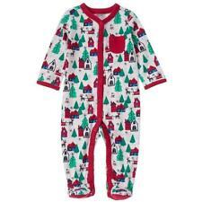 NWT Gymboree Holiday Shop Baby Boy Footed Cotton Pajamas Christmas Sleeper 0-3 M