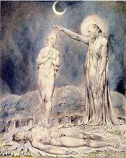 William Blake Illustrations: Paradise Lost: The Creation of Eve: Fine Art Print