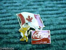 COCA COLA - PIN - CANADA FLAG AND MASCOT